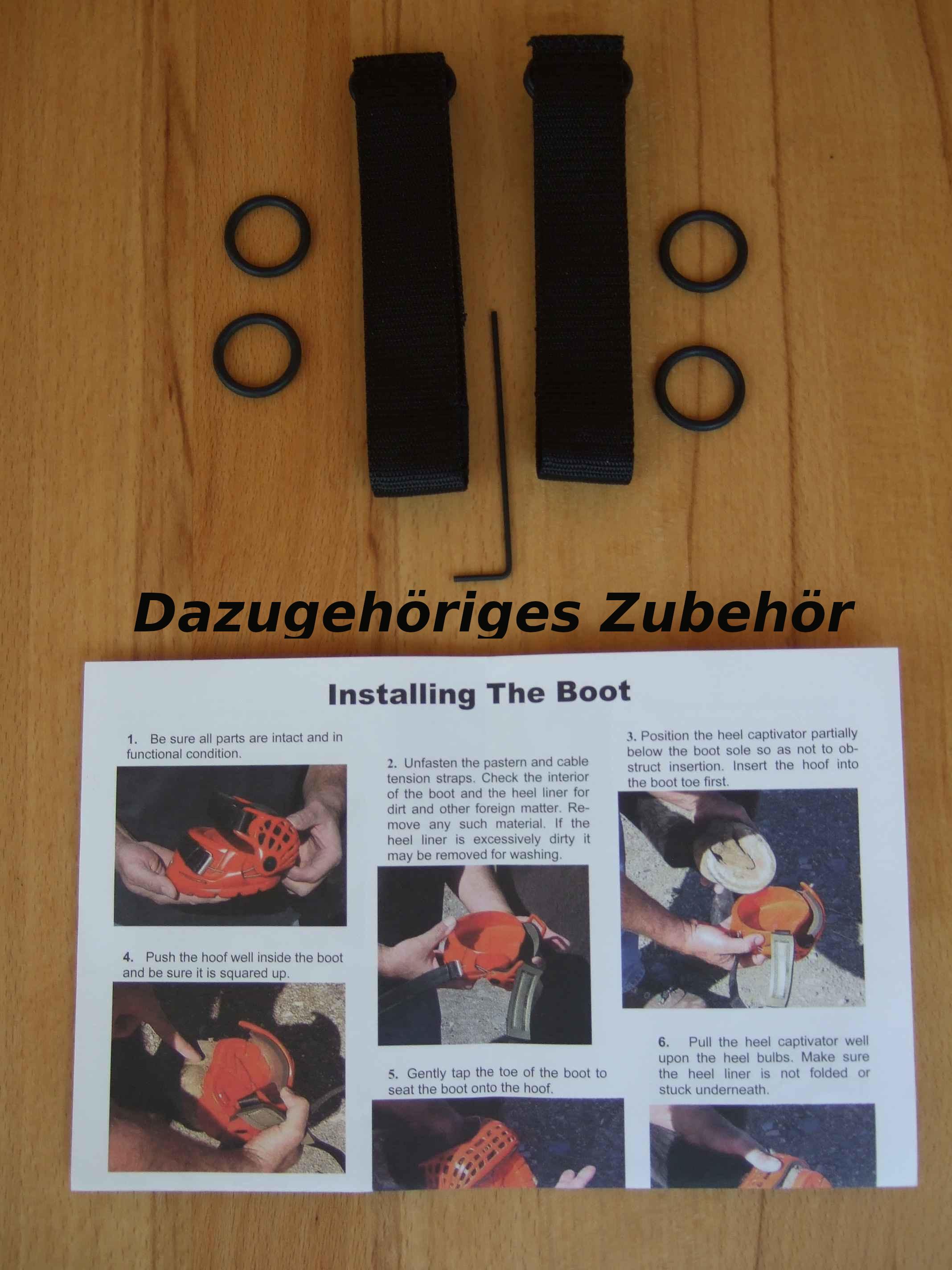 Renegade Hufschuhe, Paar kupfer Gr. 0 cutback