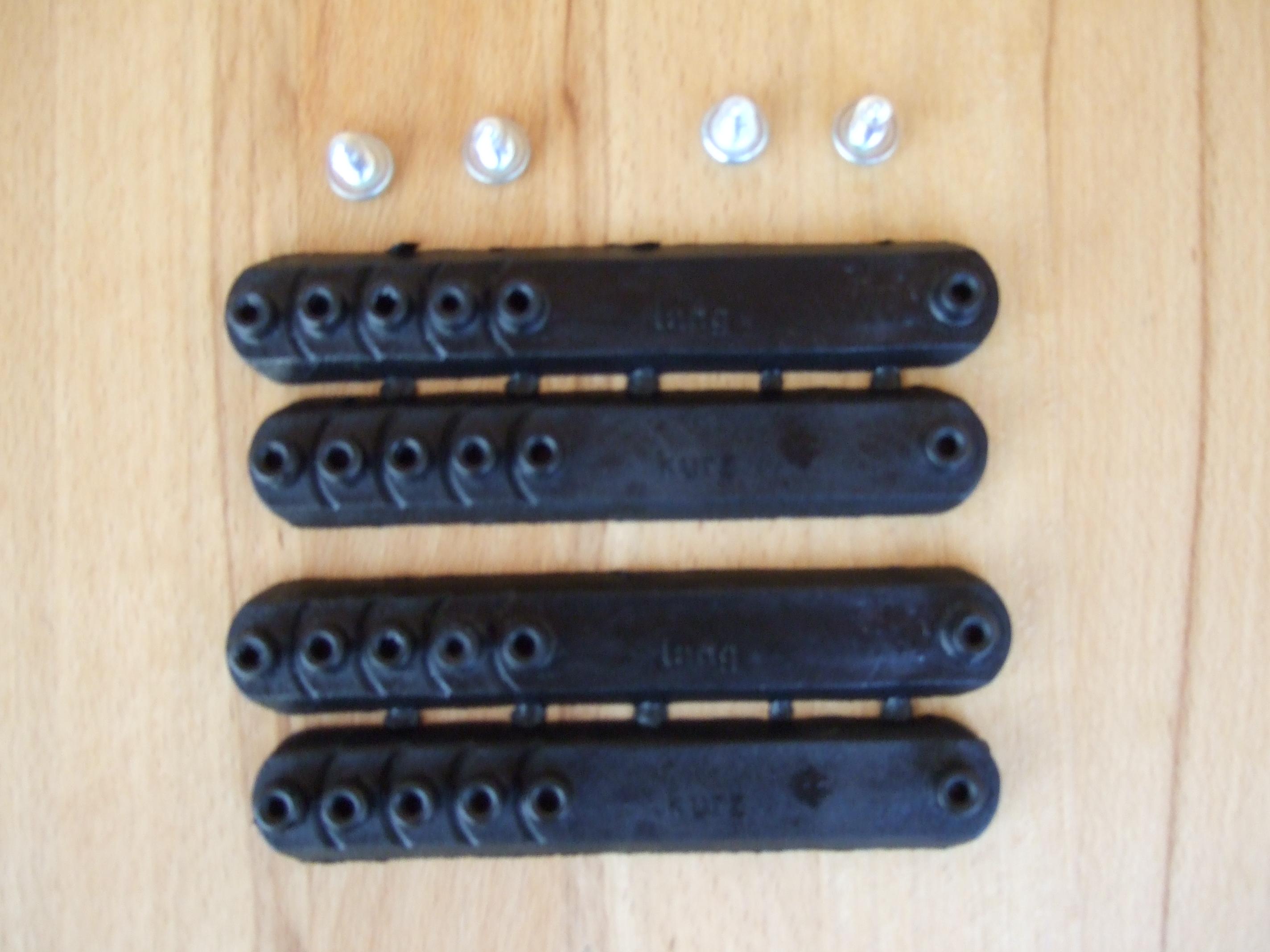 4 Stege für Dallmer Clogs inkl. 4 Schrauben